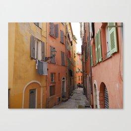Nice/Streets/France Canvas Print