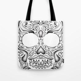 Lucha skull Tote Bag