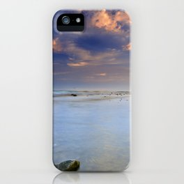 """""""Pink clouds over the sea"""" iPhone Case"""