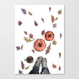 All Things Fall Canvas Print