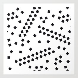 square elements Art Print
