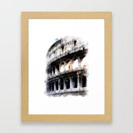 Colosseum in Rome Framed Art Print
