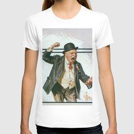 12,000pixel-500dpi - Joseph Christian Leyendecker - Statesman - Digital Remastered Edition T-shirt