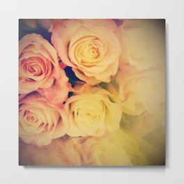 Pretty Little Roses Metal Print
