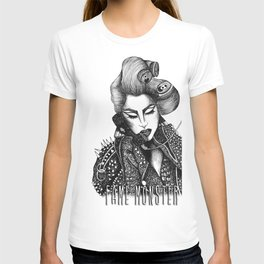 GIRL WITH A TELEPHONE T-shirt