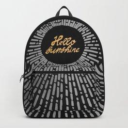 Hello Sunshine Silver - Dark Backpack