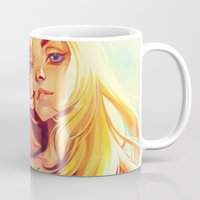 summer Mugs featuring Summer by loish