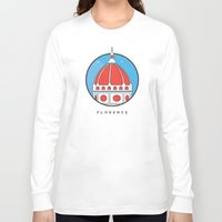 florence Long Sleeve T-shirts featuring Florence Duomo by Nada Solutions