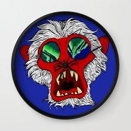 """Arctic Monkey"" by Virginia McCarthy Wall Clock"