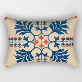 Floriated ornament a series of thirty one designs (1849) Rectangular Pillow