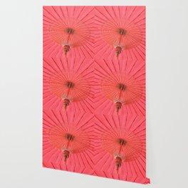 Red umbrella Wallpaper