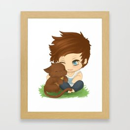 Louis and Kitty Framed Art Print