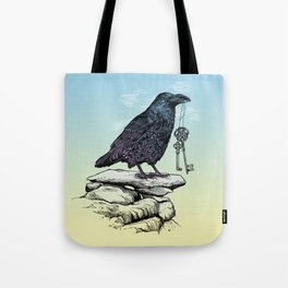 Raven's Keys Tote Bag