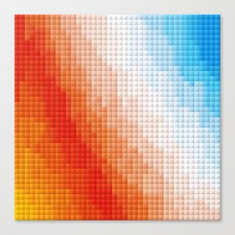 Square Color Space Canvas Print