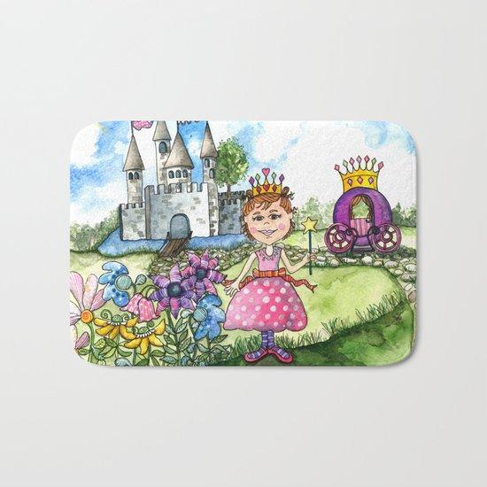 The Polka Dot Princess Bath Mat