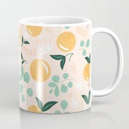 Floridian Orange Floral Coffee Mug
