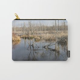 beverly shores wet lands. Carry-All Pouch