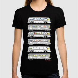"""Pop and Pals: Commuting""  T-shirt"