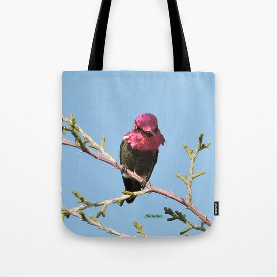 Mr. Anna's Hummingbird in Ideal Light Tote Bag