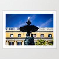 Barcelona | Sea Gull Art Print