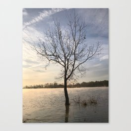 Sunrise Solitude Canvas Print