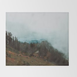 Park Butte Lookout - Washington State Throw Blanket