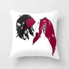 Rock 'n' Roll xxx Throw Pillow