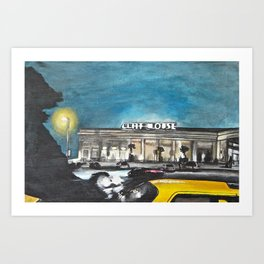 The Cliffhouse Art Print