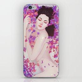 Flower Bath 6 iPhone Skin