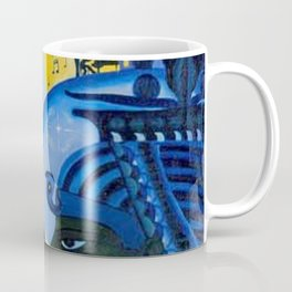 African American Masterpiece 'Ascent of Ethiopia' by Lois Jones Coffee Mug