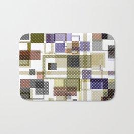 Abstract, geometric pattern 44 Bath Mat