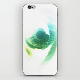 the stink eye iPhone Skin