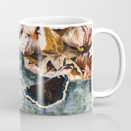 Mourning Cloak Butterfly of the Woods by Teresa Thompson Coffee Mug