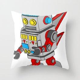 Dub-Bot Throw Pillow