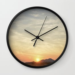 These Beautiful Skies II Wall Clock