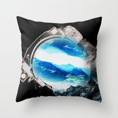 Earth Odyssey 2016 Throw Pillow