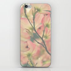 Vintage Dogwoods iPhone & iPod Skin