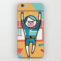 crossfit iPhone & iPod Skins featuring Crossfit by Jack Hornady Illustrations
