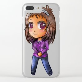 Chibi Clarity Nane Clear iPhone Case