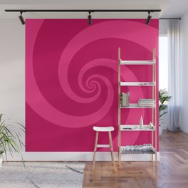 pink vortex Wall Mural