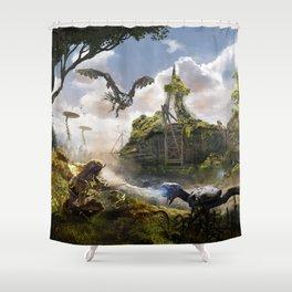 Cardiff [Horizon Zero Dawn] Shower Curtain