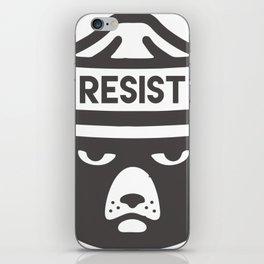 Bear Hat is Resist iPhone Skin