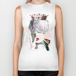 ART SAVE THE QUEEN Biker Tank