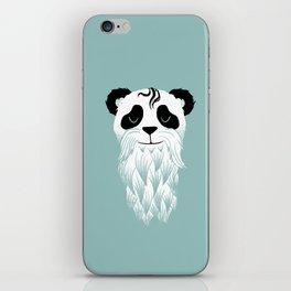 Panda Beard iPhone Skin