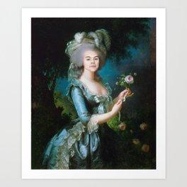 Queen Harry Styles Art Print