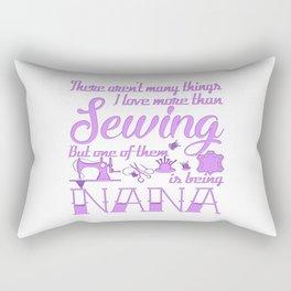 Sewing Nana Rectangular Pillow