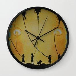 Papalotes (kites) Wall Clock