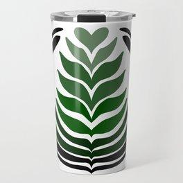 Green 10 Stack Travel Mug