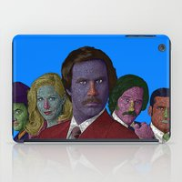 anchorman iPad Cases featuring Anchorman by CultureCloth