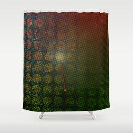 Moiré, No. 15 Shower Curtain